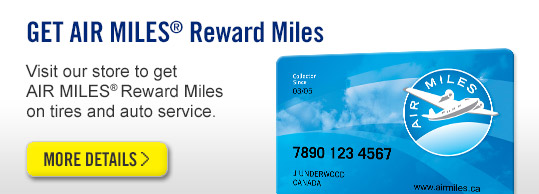 Goodyear AIR MILES® Collector Card