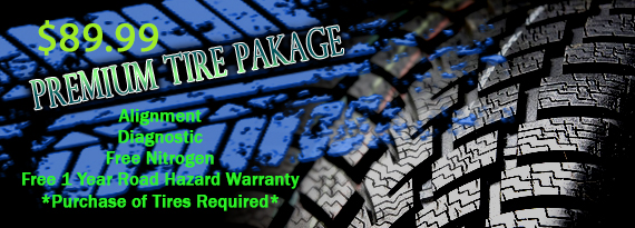 Premium Tire Package